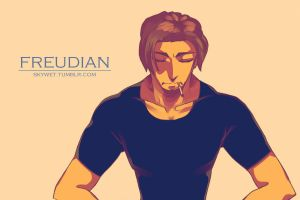 Flynn Rider from Freudian (Tangled Fanfiction) by skywet