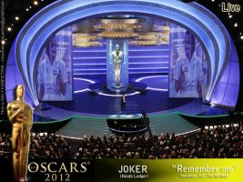 Oscars 2012 with joker by SexiestJoker