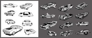 Cars concepts by hision