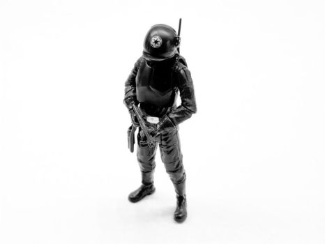 Mini Death Star Gunner by theCrow65