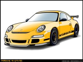 Porsche 911 GT3 RS by wilde-media