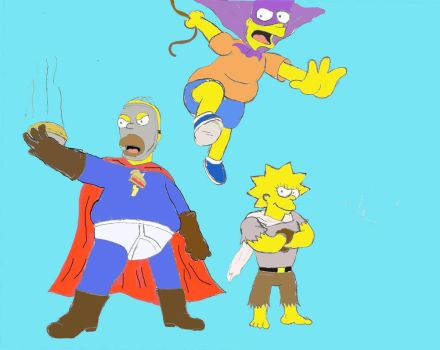 The Super Simpsons 1 by SpicyTaco1