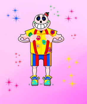 Trickster!sans by Allknownthings