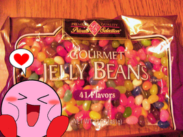Kirby Loves Jelly Beans! by Rotommowtom