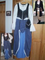 Renaissance Faire Dress by LLBeanie