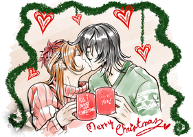 UlquiHime Christmas by ElyonBlackStar