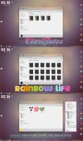 Rainbow Life - Iconpackager by ClariTutos