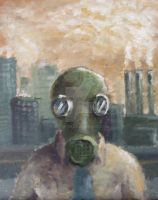 Gas mask by Alranth