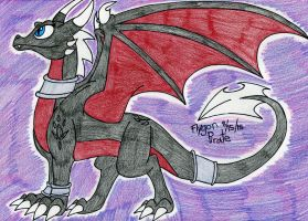 Cynder the Dragon by FlygonPirate