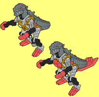Grimlock - Beast Mode by AsswhompSupreme