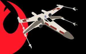Alliance X-Wing Wallpaper by MPCoyote