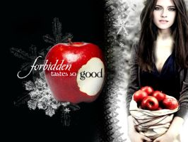 ForbiddenFruit Bella Wallpaper by TheSearchingEyes