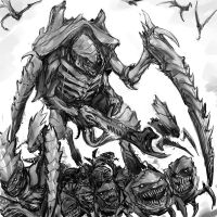 Tyranid attack by TD-Vice