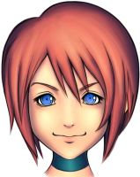 kairi coloring practice by arcbuncle