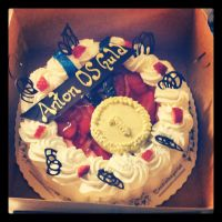 Little brother's OS cake first place by Jessi-element