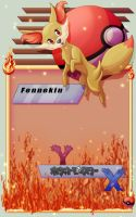 Fennekin Journalskin by GoldenEmotions