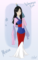 Disney .:Mulan:. by vanipy05