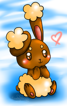Bunneary love by Eeveelutions95