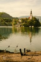 Sunday at lake Bled by XanaduPhotography