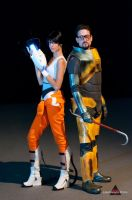 cosplay Chell -8 by sadakochan87
