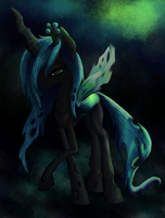 Chrysalis, Queen of the Changelings by xoxo-kristie