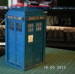 TARDIS by darth-biomech
