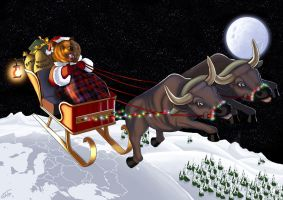 A Wall Street Christmas by Jats