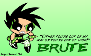 Powerpunk Girl: Brute by SniperM1D