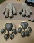 Wolf Paws by JaDisArt
