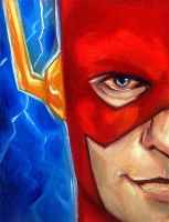Graphic Heroes 97 The Flash by grantcooley