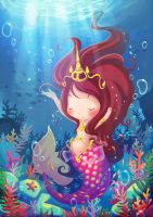 Under the sea by Miss-Rabbit