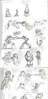 TMNT 2012-April's Ninja Training by nanashi