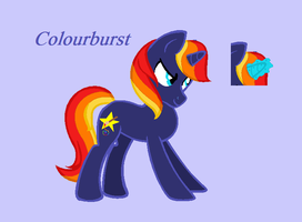 For a contest - Colourburst by Rain-Approves