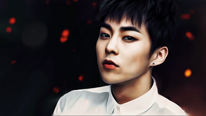 Kim Minseok by bubble-min