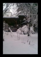 House in Winter by DoggyLover94