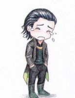 Sad Chibi Loki is Sad by vasira