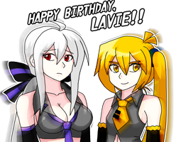 Happy birthday, Lavie! by Kousaku-P