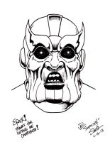 Thanos by Jeff -Not the Bone Guy- Smith by IamSpeck