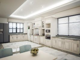 Kitchen first design by kasrawy