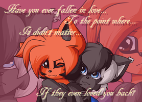 'Have you ever fallen in love...?' by FreckledAndSpeckled