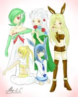 My Platinum Team by Migerumaru