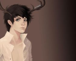 some deer kid from ls LOL by AMSBT
