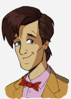 11th Doctor - quick sketch by Carnivius