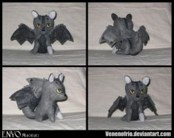 Enyo Plushie Commission by MissDeadEnd
