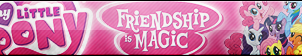 MLP: Friendship is Magic Fan Button (Edited) by ButtonsMaker