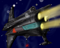 Random -bad- spaceship by Tynermeister