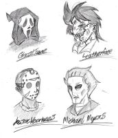 Slashers in Masks by gear25