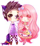 .:C:. Tom and Candy by Vanny-nyah