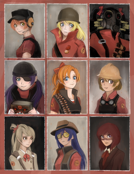 Love Live! Team Fortress 2 Ver. by dzetaWMDunion