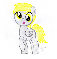 filly Derpy hooves by Acuario1602